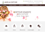 screenshot http://www.anselia-coiffure.com/ Ansélia Coiffure