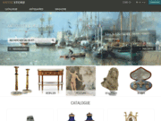 screenshot http://www.anticstore.com antiquaires