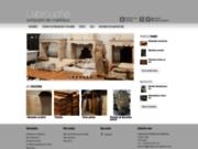 screenshot http://www.antiquaire-de-materiaux.com vente de matériaux anciens