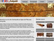 screenshot http://antiquites-var.fr Méounes Antiquités