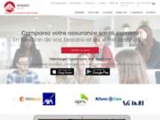screenshot http://www.aoc-insurancebroker.fr/ comparateur d'assurance