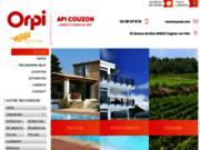 screenshot http://www.api-orpi.com agence immobilière cagnes sur mer.