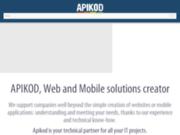 screenshot http://apikod.com/fr/ Applications mobiles éco-conduite