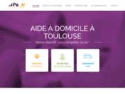 screenshot http://www.apm31.com/ Service à la personne à Toulouse