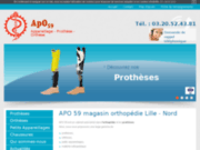 APO 59, magasin orthopédie, Nord