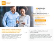 La gamme logiciels Apologic réservée à la gestion de service à la personne