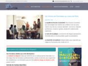 screenshot https://www.aprentiv.com/ formation continue en comptabilité à Paris