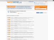 screenshot http://www.apreslachat.com besoin d'une notice d'appareil ?