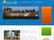 screenshot http://www.apresschool.org apres school