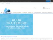 screenshot http://www.aqua-traitement.fr adoucisseur d'eau