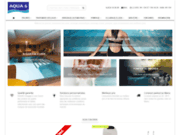 screenshot http://www.aqua6.org aqua6 materiel de piscine, arrosage automatique,