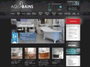 screenshot http://www.aquabains.fr baignoire
