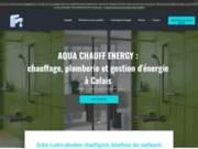 screenshot http://www.aquachauffenergy.com plombier calais