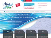 screenshot http://www.aquafuiteplus.com recherche de fuite d'eau