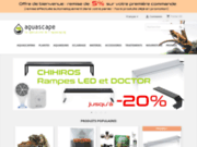 screenshot http://www.aquascape-boutique.fr aquascape boutique