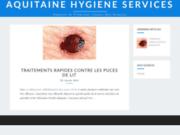screenshot http://www.aquitaine-hygiene-services.com dératisation agen, perigueux, bergerac