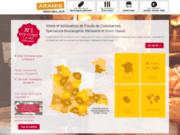 screenshot http://www.aramis-immobilier.com/ Aramis-Immobilier