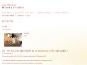screenshot http://www.arbore-dorure.com atelier arbore - dorure  restauration de bois dorés