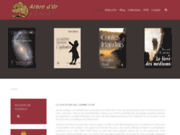 screenshot http://www.arbredor.com arbre d'or editions