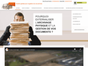 screenshot http://www.arcalys.com arcalys, archiveur, archiviste depuis + de 15 ans
