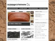 screenshot http://www.archeologie-et-patrimoine.com archéologie et patrimoine