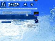 screenshot http://www.archimede-volet-piscine.com/ volet piscine