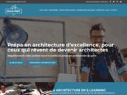 screenshot http://www.archiprep.com Prépa en architecture Archi Prep'