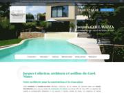 Architecte construction maison Avignon, Castillon-du-Gard, Uzès