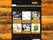screenshot http://www.architecte-lot-busieau.com architecte du bois g. philippe busieau