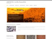screenshot http://www.arcillaexpandida.es/english.html arexpan - argile expansée