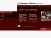 screenshot http://www.arconnerie-francaise.com l'arçonnerie française