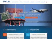 screenshot http://www.arelis.com Le groupe Arelis