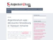 screenshot https://www.argentoratum-app.alsace Argentoratum