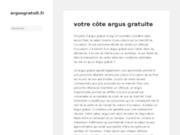screenshot http://www.argusgratuit.fr argusgratuit.fr