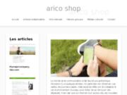 screenshot http://www.arico-shop.com Arico Shop