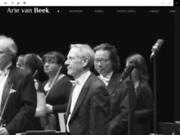 screenshot http://www.arievanbeek.net orchestre de picardie - arie van beek