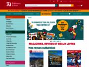 screenshot http://www.arkeojunior.com/ arkéojunior magazine enfant d'archéologie