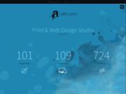 screenshot http://www.arkt.com arkt.  print  web design studio