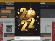 screenshot http://www.armurerie-pascal.com armurerie pascal paris - chasse, tir, loisir