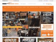 screenshot http://www.armurerie-steflo-lyon.com arme lyon, accessoires chasse