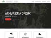 screenshot http://www.armurerielaudier.fr/tir-situe-paris.html Tir à Paris