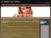 screenshot http://www.arret-du-tabac.net arret du tabac