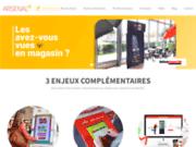 screenshot http://arsenal.fr plv événementielle arsenal