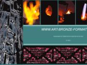 screenshot http://www.art-bronze-formation.com stage de fonderie d' art et bijouterie cire-perdue