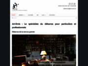 screenshot https://www.art-emis.fr Le spécialiste du débarras d'habitation.