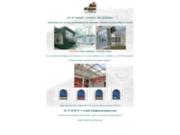 screenshot http://www.art-et-maison.com solutions de vérandas et de toits coulissants