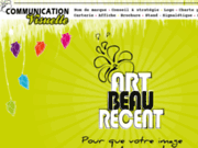 screenshot http://www.artbeaurecent.fr art beau récent