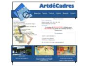 screenshot http://artdecadres.free.fr artdecadres encadrement