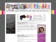 screenshot http://www.artdetoile.fr création de sites internet artistiques