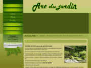 screenshot http://www.artdu-jardin.com/ l'art du jardin gard 30